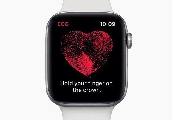 ECG-functie Apple Watch