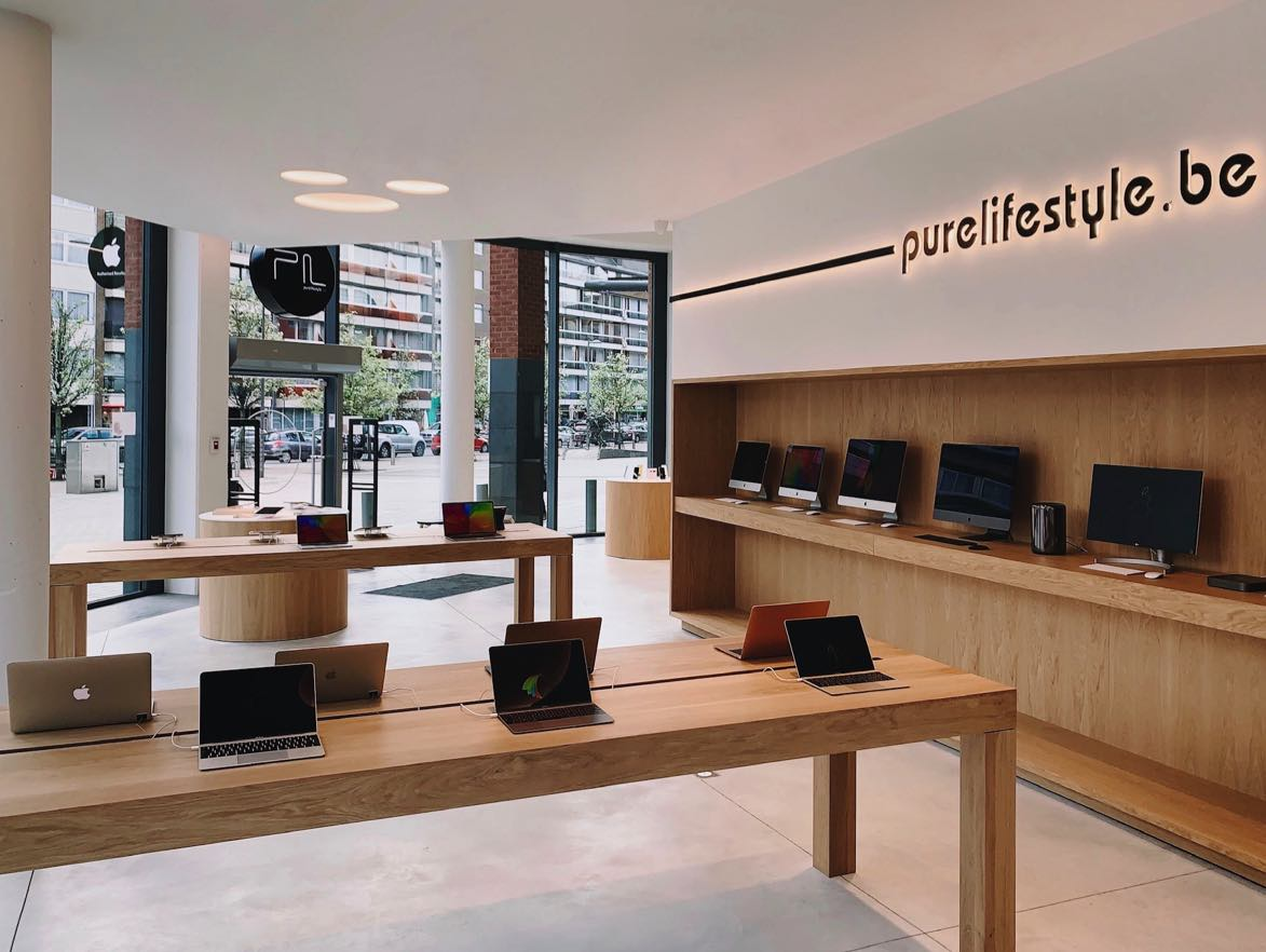 Apple Store Ninove.