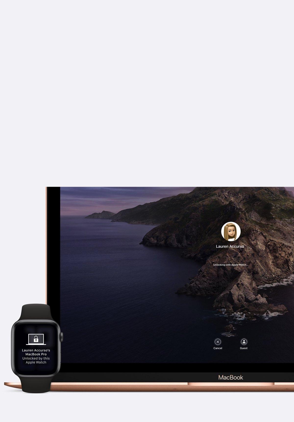 Apple Watch Ninove Mac ontgrendelen