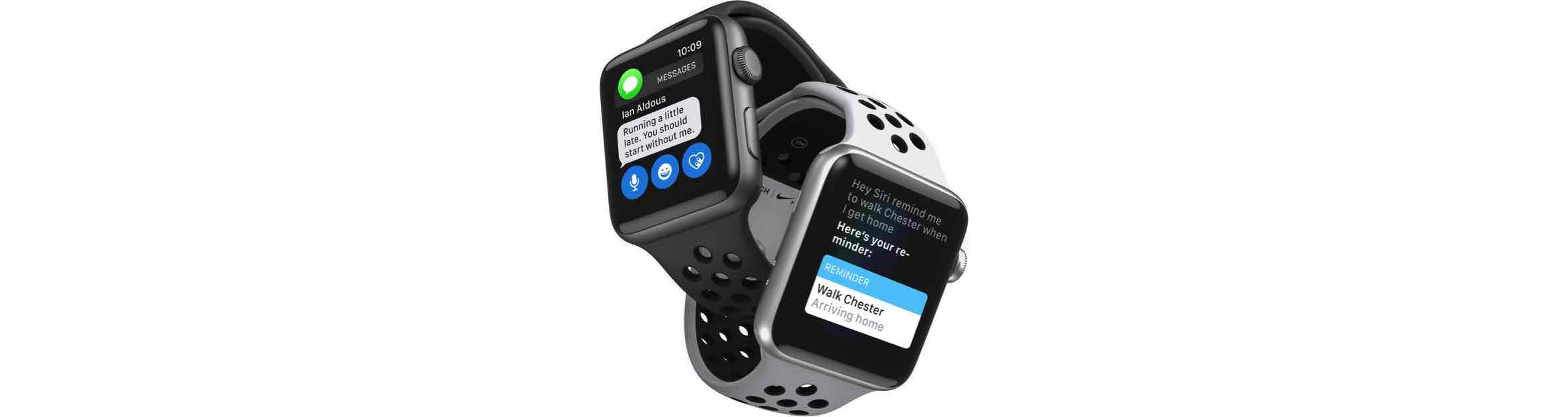 Nike+ functies Apple Watch Series 3
