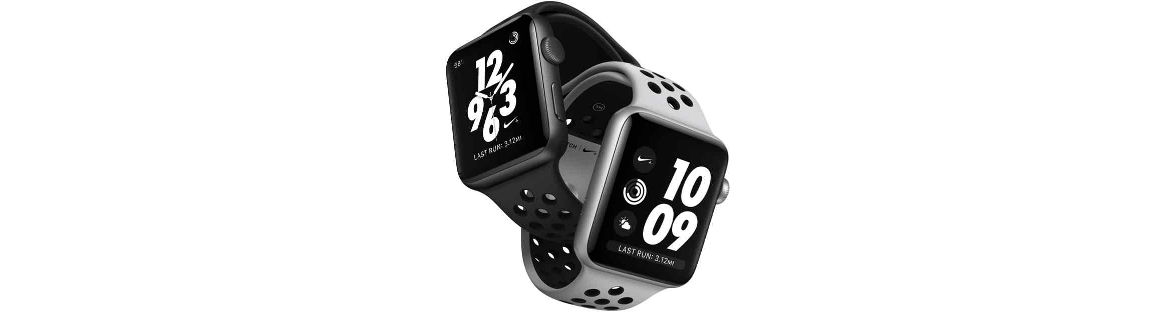 Apple Watch Series 3 Nike+ wijzerplaten