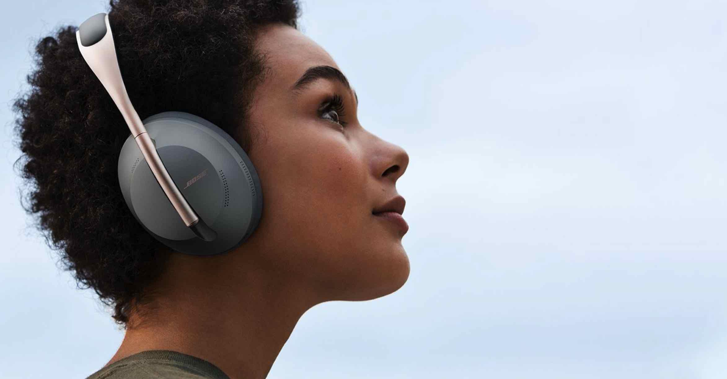 Bose koptelefoons met ruisonderdrukking