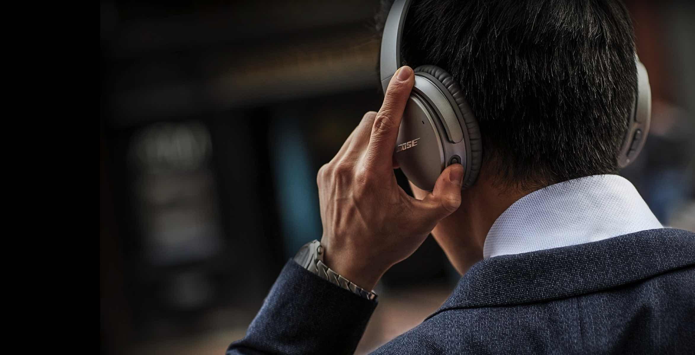 Bose noise cancelling-hoofdtelefoons