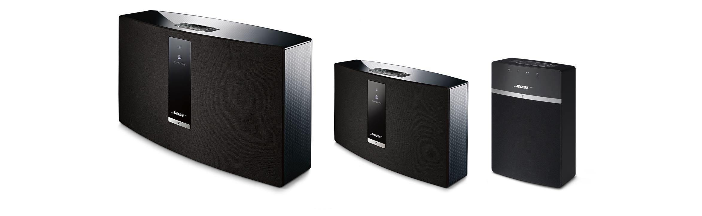 Bose soundtouch multiroom speakers