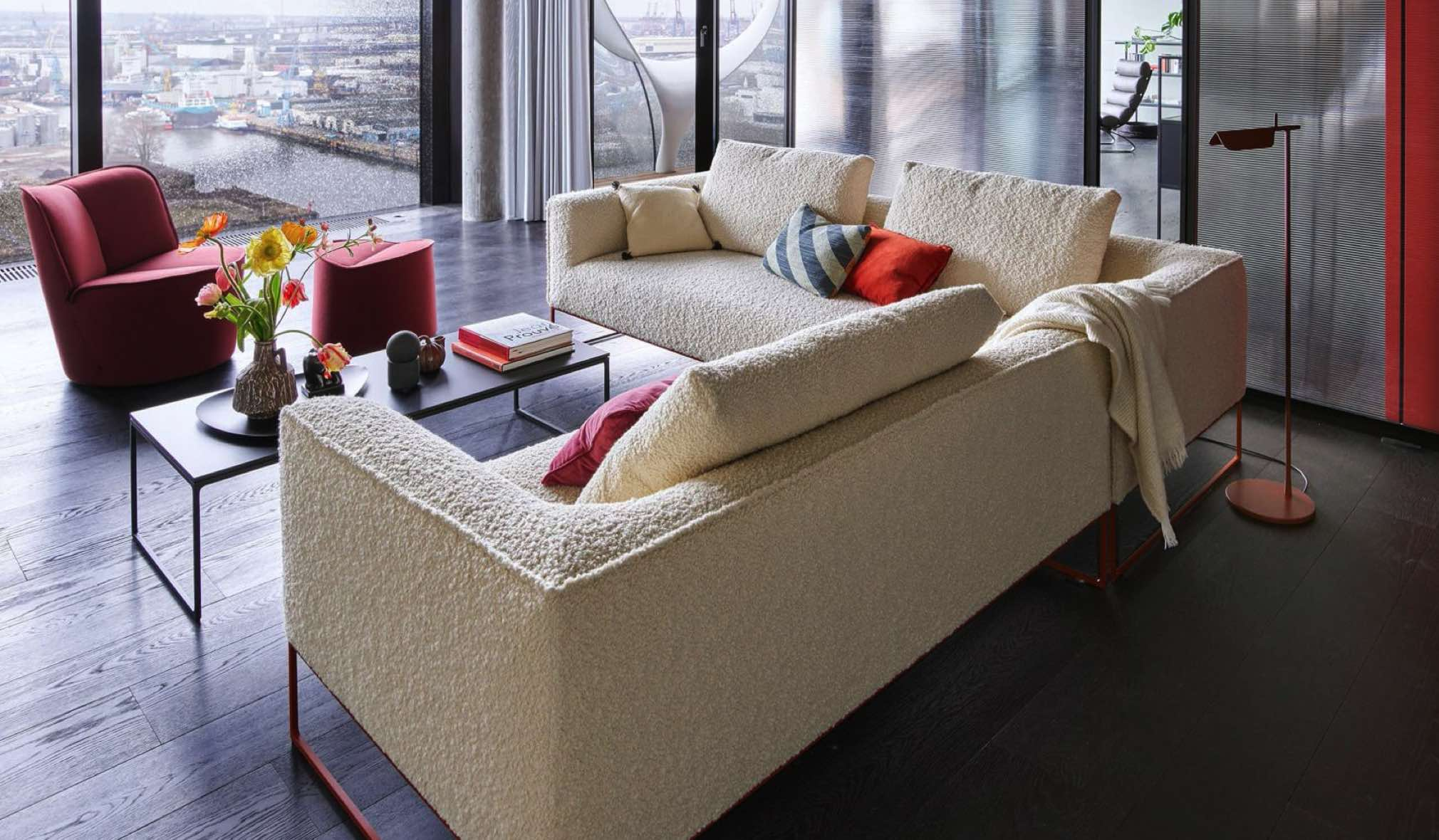 COR Mell Lounge zitbank Ninove