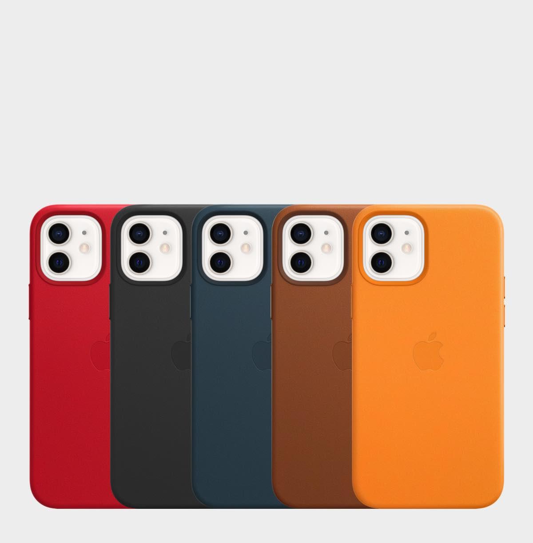 iPhone 12 leren hoesje met MagSafe Ninove