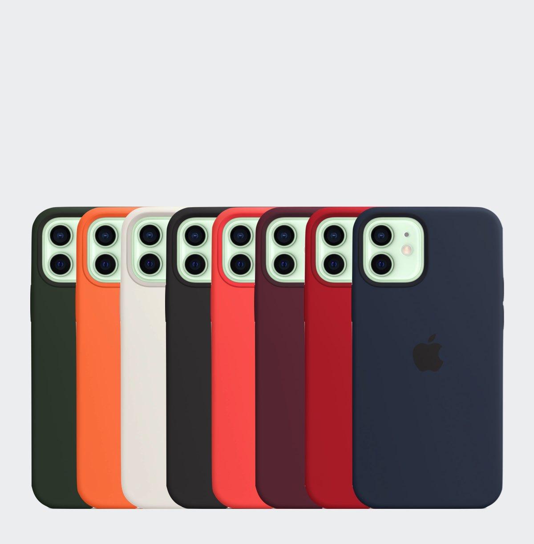 iPhone 12 Siliconenhoesje met MagSafe Ninove