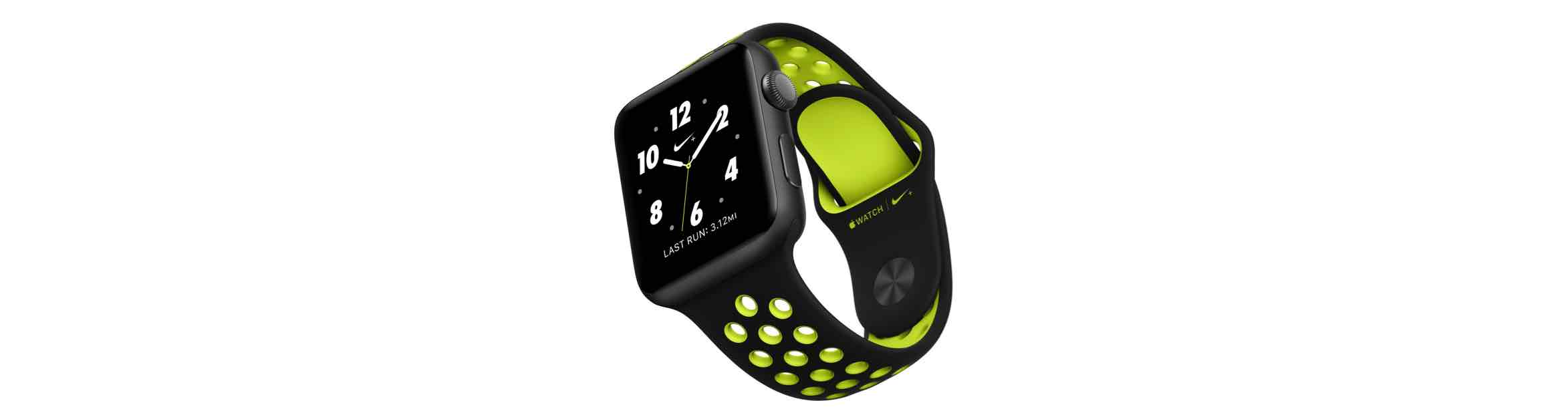 Nike+ Apple Watch wijzerplaten