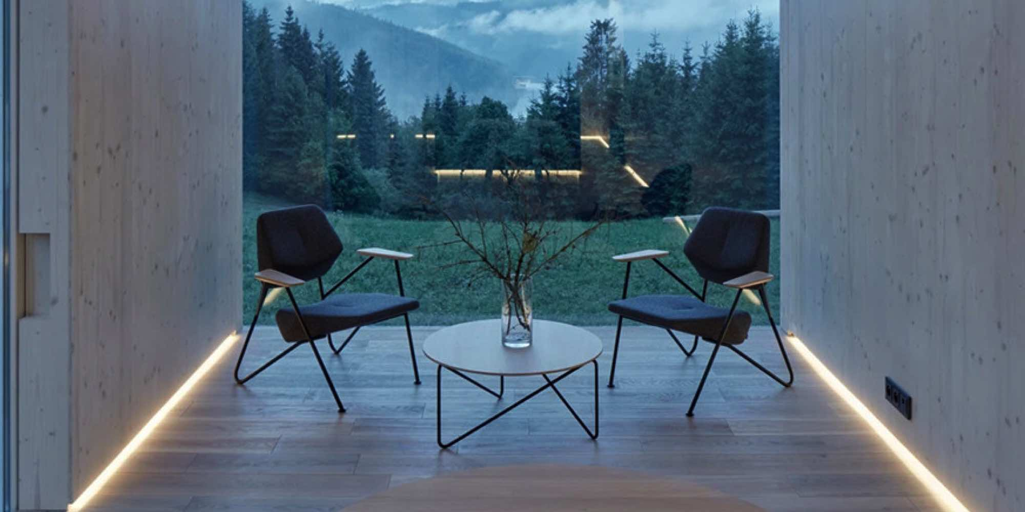 Prostoria Ninove Polygon easy chair