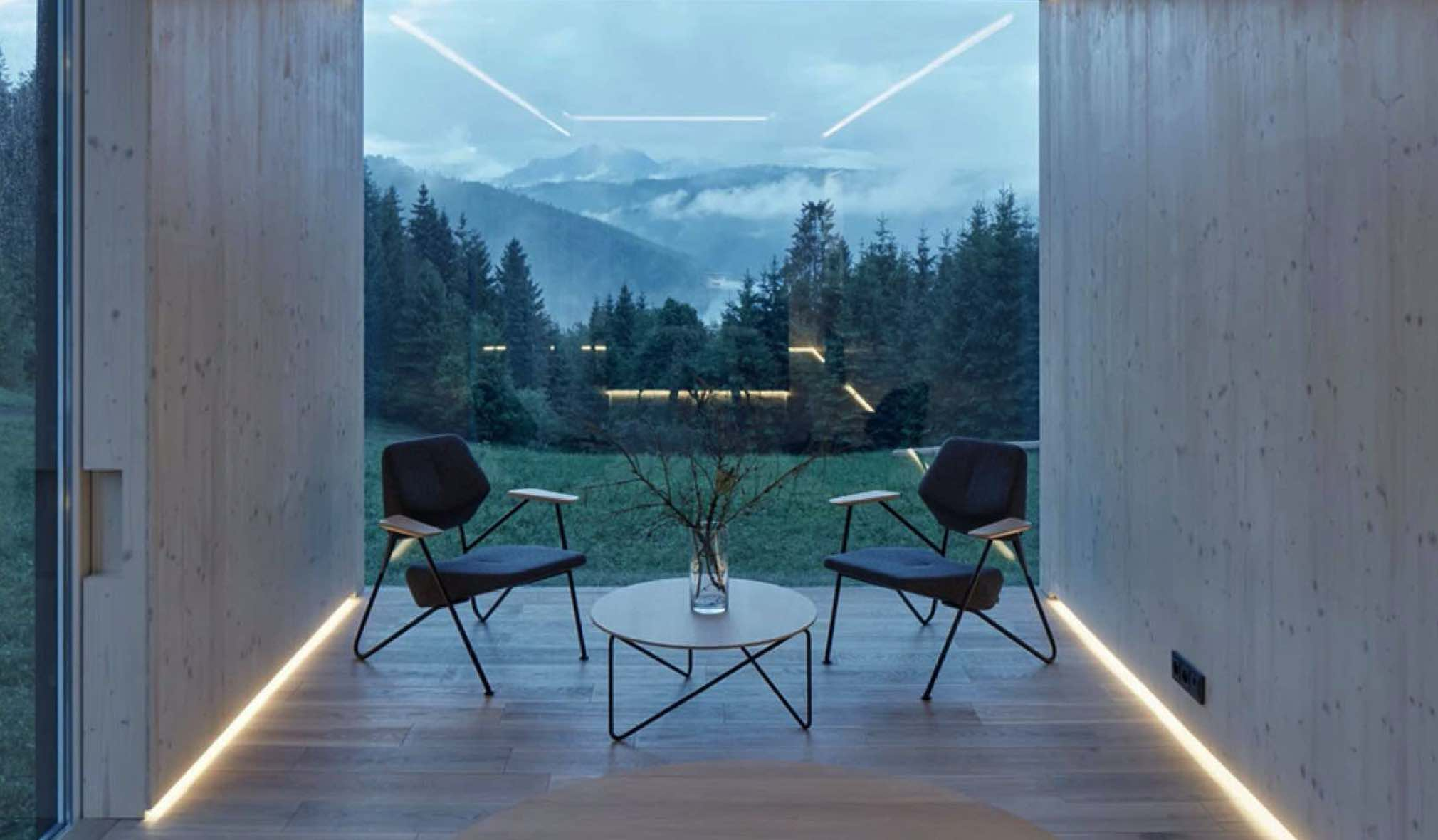 Prostoria Ninove Polygon easy chair