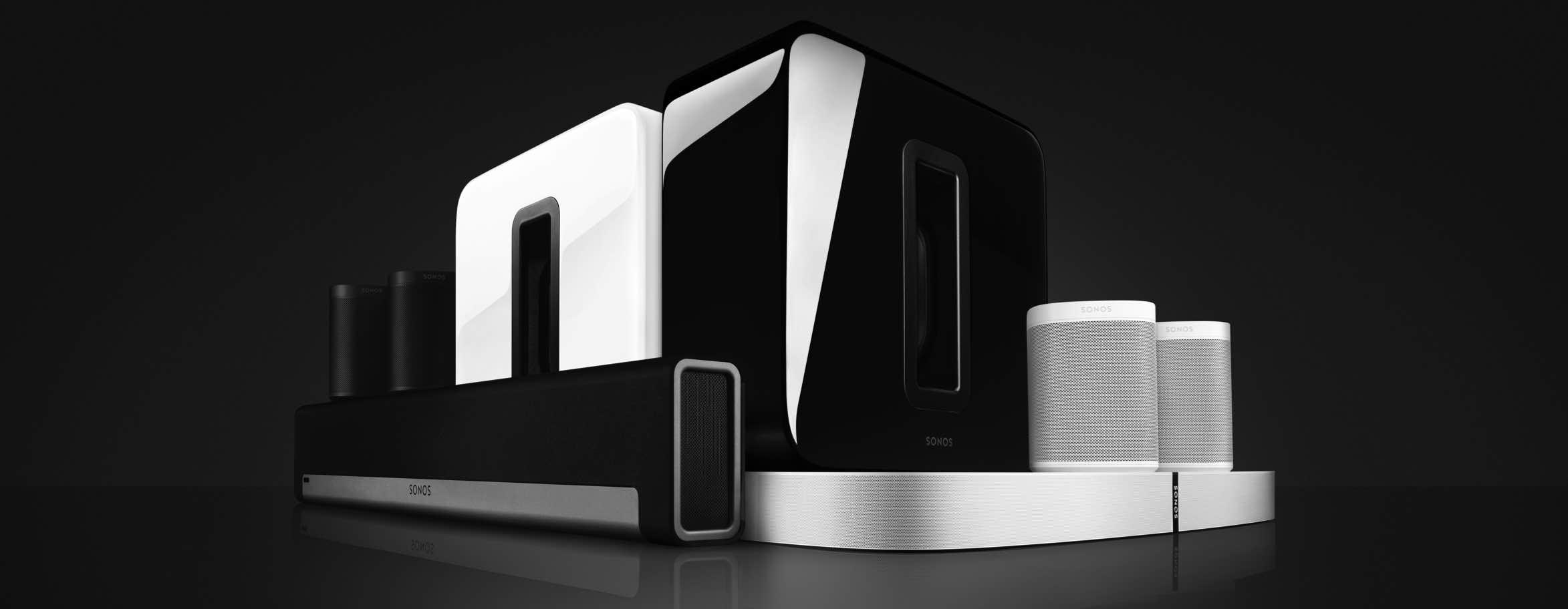 Sonos multiroom speakers