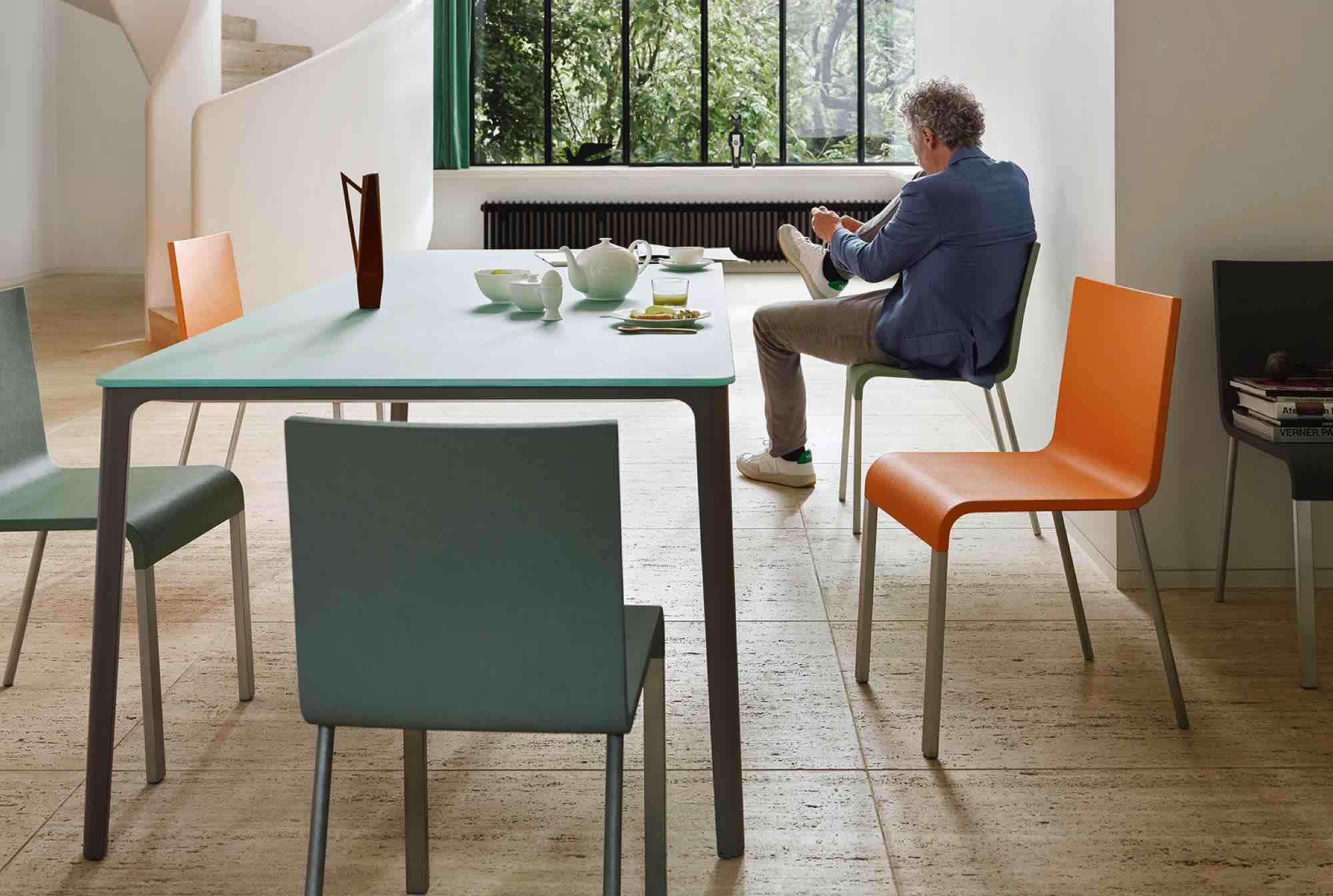 Vitra Ninove Dining Plate tafel .03 stoel Maarten Van Severen
